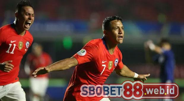 Kelegaan Alexis Sanchez Setelah Akhiri Paceklik Gol Selama 5 Bulan