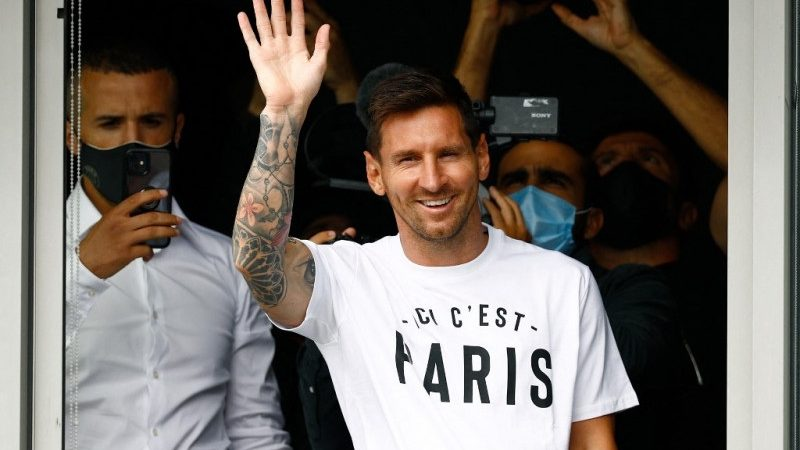 Bienvenue Leo Messi: Messi resmi pindah ke PSG