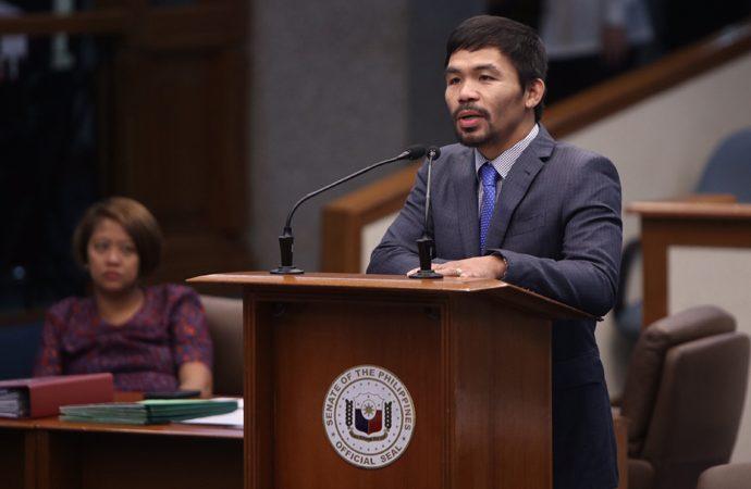 Manny 'PAC MAN' Pacquiao Presiden Filipina berikutnya?